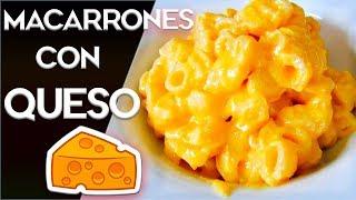Como hacer Macarrones con queso Facil a mi manera | Juan Pedro Cocina |