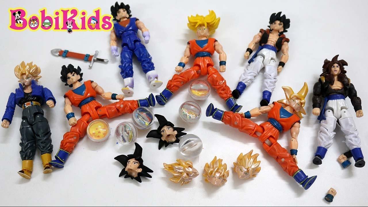 [Mở Hộp] Đập 10 hộp Dragon Ball Truy Tìm 7 Viên Ngọc Rồng Và Cái Kết  #BobiKidsChannel