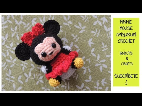 Minnie Mouse 9 Handmade crochet doll birthday by Solutions2511 ... | 360x480