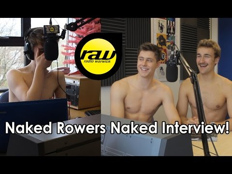 Warwick Rowers Naked Interview!