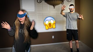 DON'T CHOOSE THE WRONG ITEM! *Blindfold Challenge*