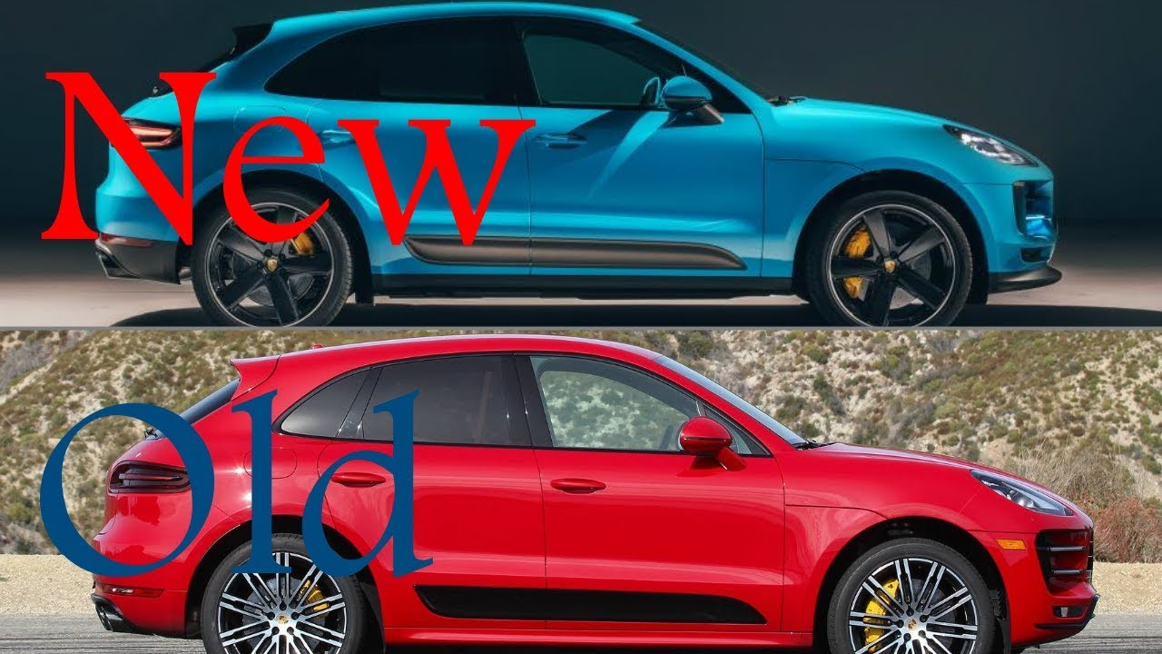 New 2019 Porsche Macan Facelift Vs Old 2018 Porsche Macan Youtube