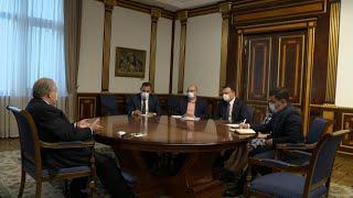 Նախագահը «Հայաստան» հիմնադրամի գործադիր տնօրենի հետ քննարկել է Սյունիքում ծրագրեր իրականացնելու հնարավորությունը