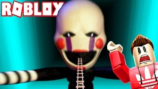 GIANT PUPPET MASTER IS GOING TO EAT ME! (Roblox Adventures)