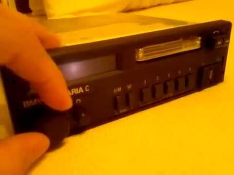 blaupunkt bmw bavaria c cassette testing youtube. Black Bedroom Furniture Sets. Home Design Ideas