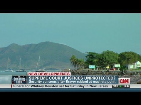 Supreme Court justices unprotected?