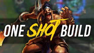 Imaqtpie - ONE SHOT BUILD
