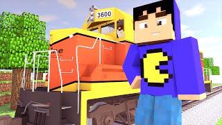 Minecraft Mod: TRENS REALISTAS! (Vagões e Trilhos // Rails of War)