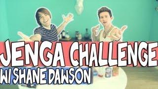 JENGA CHALLENGE W/ SHANE DAWSON | RICKY DILLON