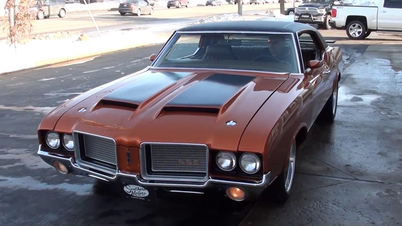 1972 Oldsmobile Cutlass $25,900 00