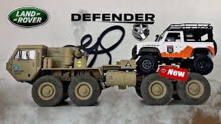 Defender D90 Unboxing.....What do you think on making a military Vehicle?