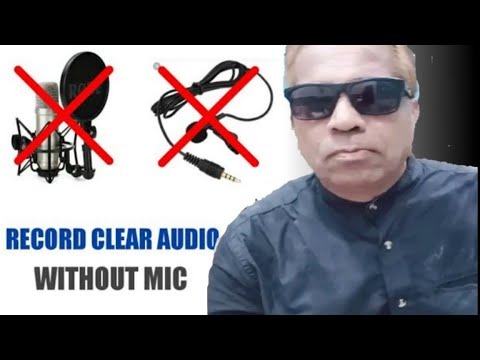 100% Working Trick || Record Clear Audio For Youtube Videos Without Mic