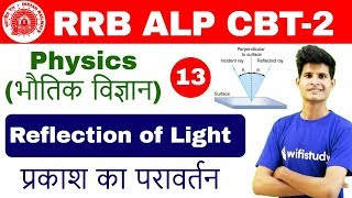3:00 PM - RRB ALP CBT-2 2018 | Physics By Neeraj Sir | Reflection of Light (Part-1)