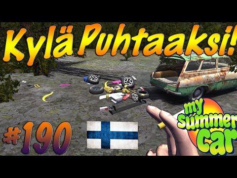 My Summer Car #190 | KYLÄ PUHTAAKSI!