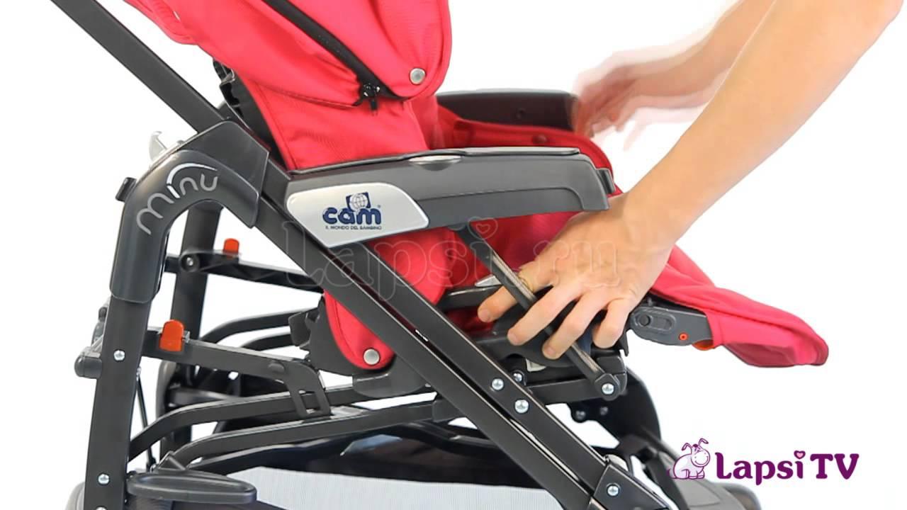 МамОбзор коляски CAM Dinamico 3в1   Отзыв спустя год использования .