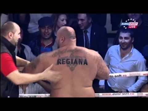 Bob Sapp gets his ass kicked in Romania !