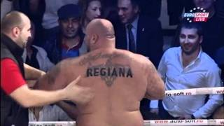 Bob Sapp gets his ass kicked in Romania !