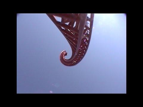 Retro Superman Geauga Lake Roller Coaster POV Footage Six Flags Ohio