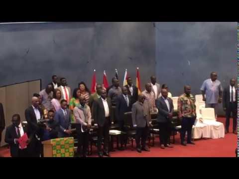 President of Ghana visit  Toronto