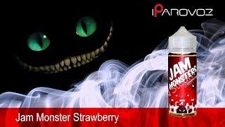 Jam Monster Strawberry тест жижла