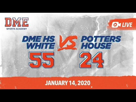 DME HS White vs Pottershouse