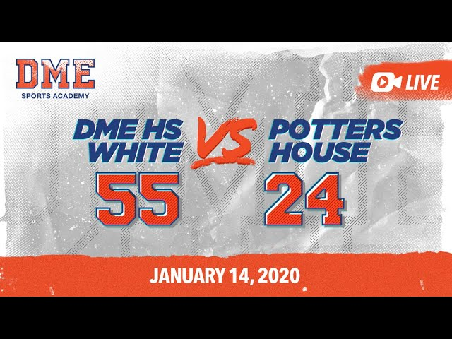 DME HS White vs Pottershouse