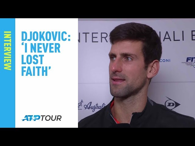Djokovic On The Difference Against Delpo   Rome 2019