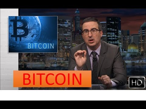 John Oliver – What is BITCOIN in Short
