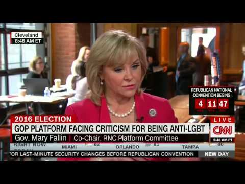 Oklahoma Gov. Mary Fallin humiliates herself justifying her party's homophobia