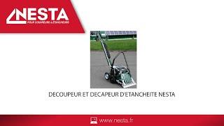 Decoupeur et decapeur d'etancheite NESTA video complete