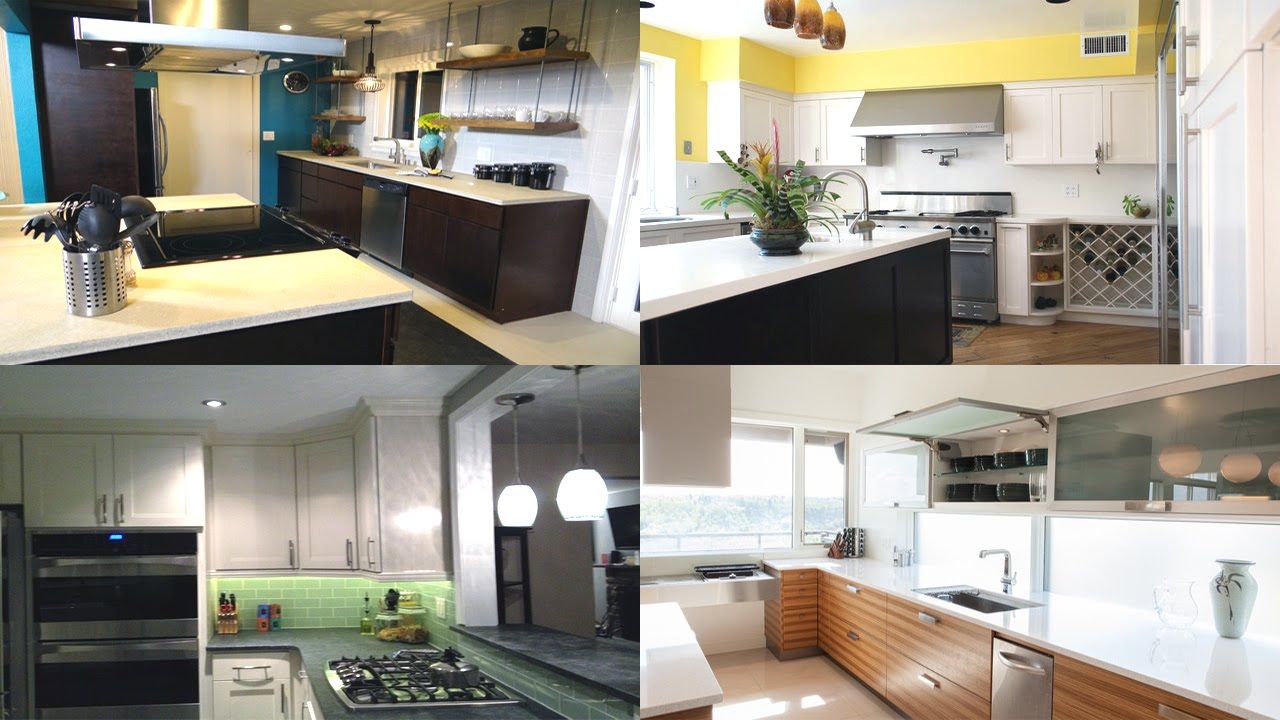 Desain Interior Dapur Dengan Kitchen Set Meja Dapur Kabinet Modern Youtube