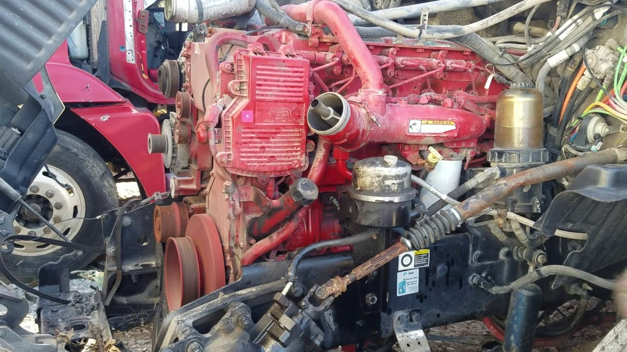 CUMMINS ISX Engine Assembly #46716 - For sale at CRANDALL, TX   Tim