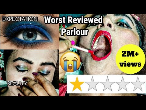 I WENT TO THE WORST REVIEWED MAKEUP ARTIST IN INDIA KOLKATA | RIA