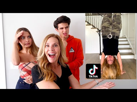 WE MADE OUR MOM TIK TOK FAMOUS..