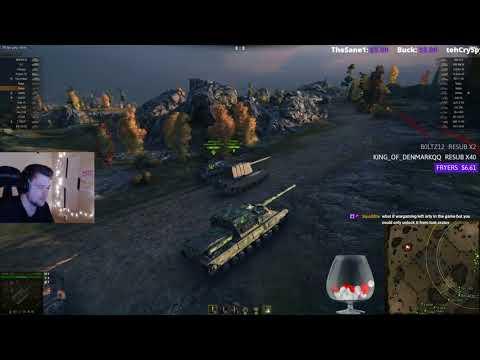 World of Tanks - 9.21 Badger Test Server Gameplay