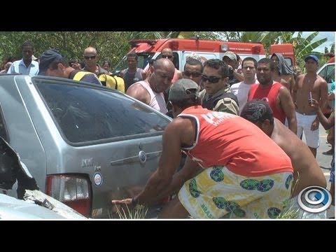 Motorista imprudente provoca acidente grave na BR-101