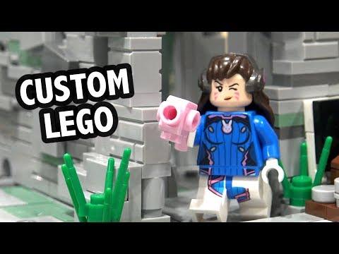 LEGO Overwatch Castle Eichenwalde | Brickworld Chicago 2019