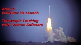 Atlas V EchoStar 19 Launch - 12/18/16