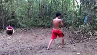 Silat Kuntau 7 Gerakan - Kalimantan Tengah