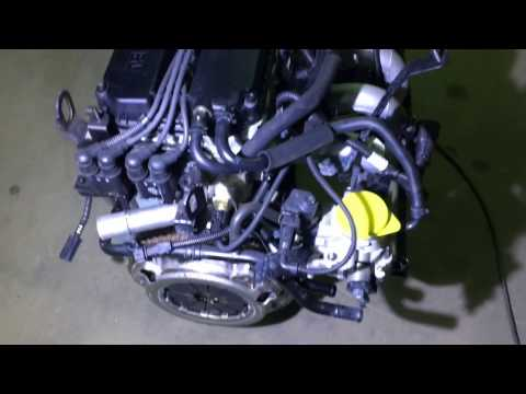 Двигатель Киа Спектра S6D с навесным K0AB5 02 100 K0AB502100