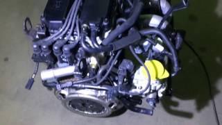 Двигатель Киа Спектра S6D с навесным K0AB5-02-100 K0AB502100