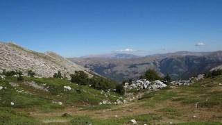Korradino ed Alessandro sulla MONTAGNA GRANDE Monte Argatone/La Terratta 02 ott 2011.