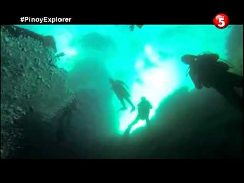 Pinoy Explorer aga muhlach pinoy explorer Romblon Blue Hole - Nedy Calumno Dive Instructor