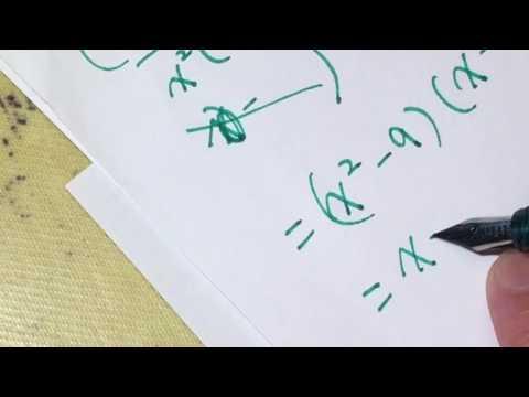 High school math - polynomial long division