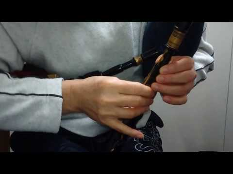 The Cock of the North played on Northumbrian Smallpipes in F