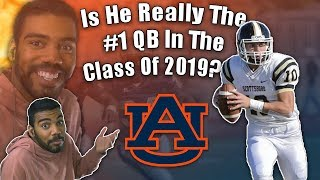 Is This The Real #1 QB In The Class Of 2019???- Bo Nix Highlights [Reaction]