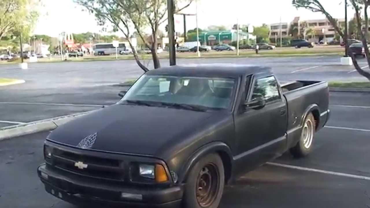 1994 CHEVY CHOPTOP CUSTOM S10 PICKUP TRUCK - YouTube