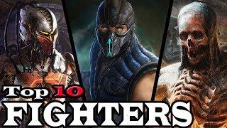 Top 10 Most Badass Mortal Kombat Kharacters