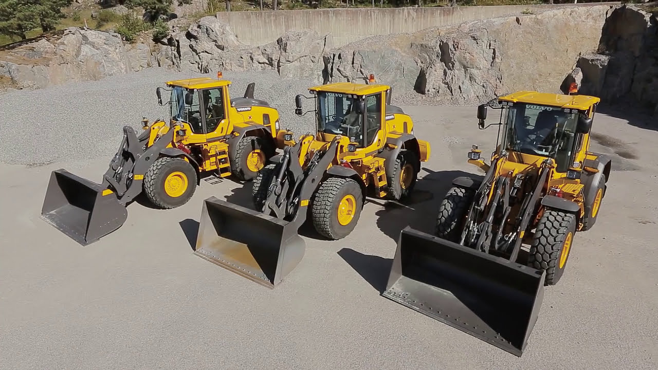 Video Walkaround Volvo L60h L70h L90h Loading Shovel See Clearer In Comfort Youtube