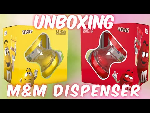 New M&M's Flip Me Over Dispenser Unboxing    With Hotgame7  #m&ms #dispenser #smallyoutuber #4k